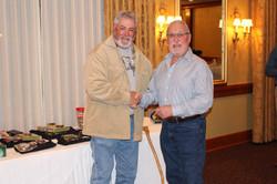 Randy presenting Mark Top Six Award