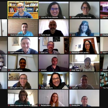 Los equipos de trabajo internacional impulsan la red EDUCAR