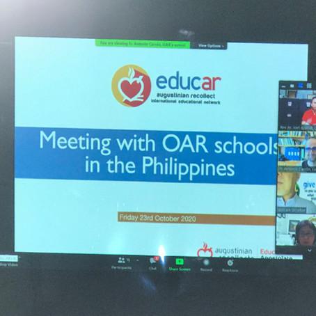 EDUCAR presents International Work Teams to Philippine OAR Schools