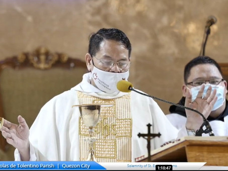 REAP Schools unite during the novena for St. Ezekiel Moreno