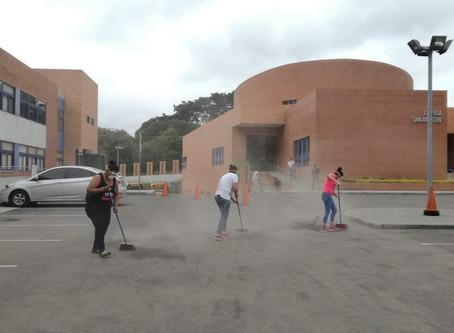 El Colegio San Agustín de Guatemala colabora con los damnificados de la erupción del Volcán de Fuego
