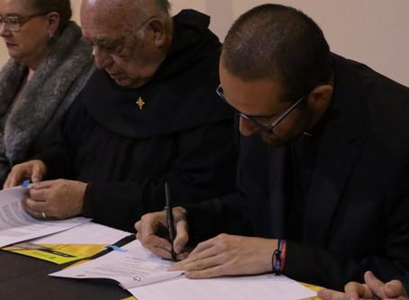 Convenio de colaboración de la Uniagustiniana con la Orden