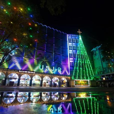 USJ-R holds first virtual Christmas lighting ceremony
