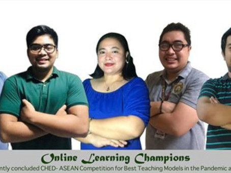 Josenian educators win at CHED-ASEAN tilt