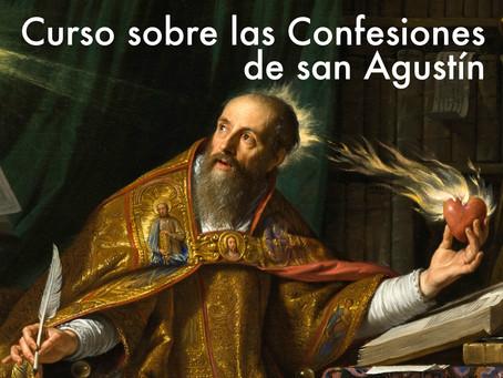 Curso de lectura guiada de las Confesiones de san Agustín