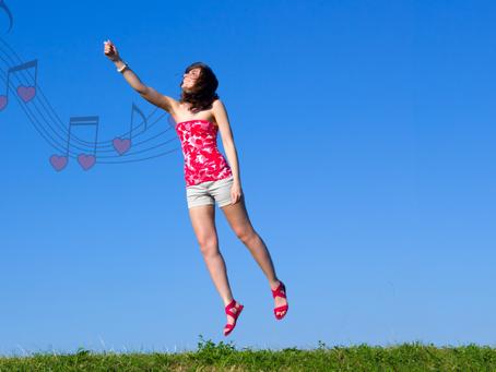 La música te hace sentir el efecto de estar enamorado