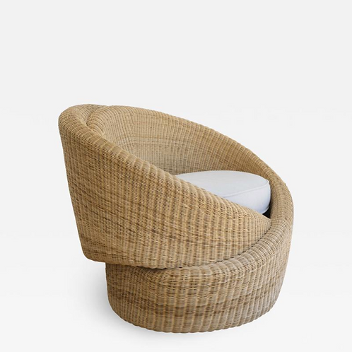 Rattan Indoor-Outdoor Armchair