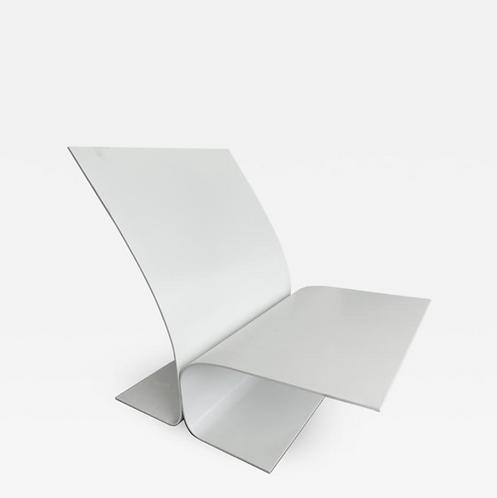 Bird Chair in Aluminum