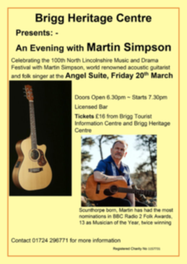 An Evening with Martin Simpson