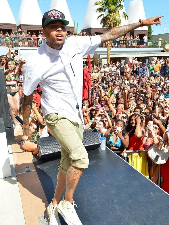Chris Brown at Palms Las Vegas