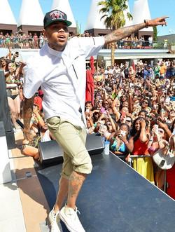 Chris Brown at Palms Las Vegas