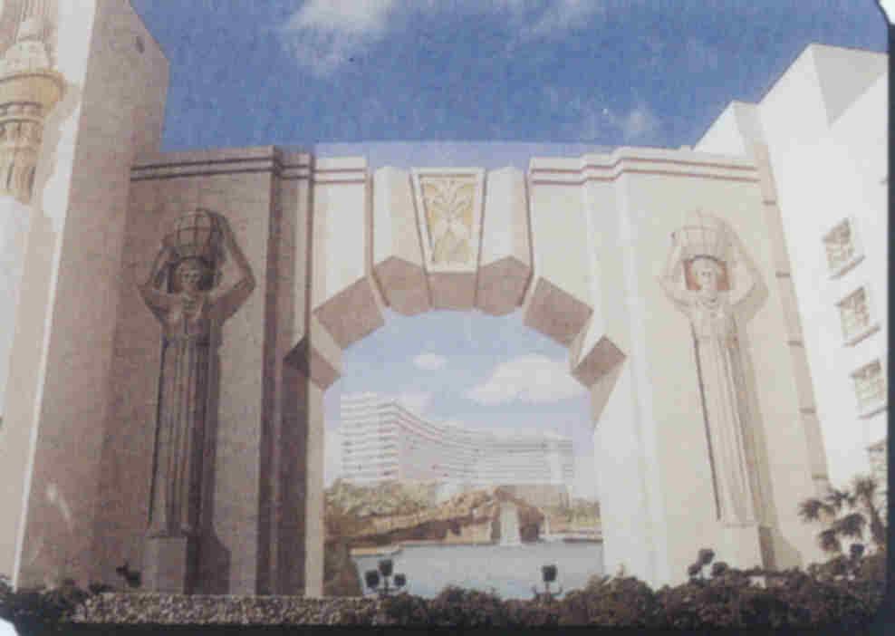 Hilton Miami Muurschildering