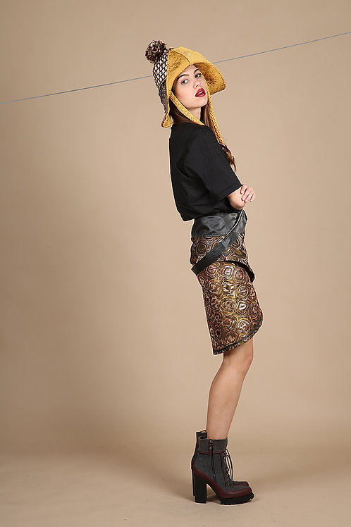 Nomad Rock suspenders Skirt