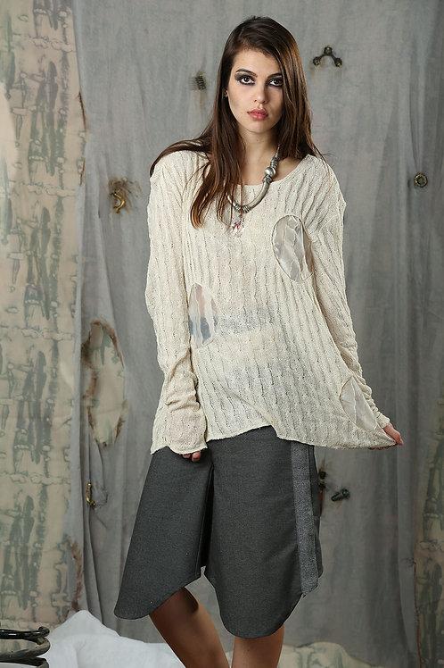 Liquid Circle Knitted Shirt