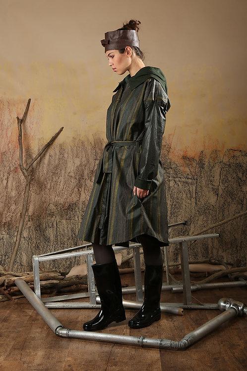 Reversible Wet Green Coat
