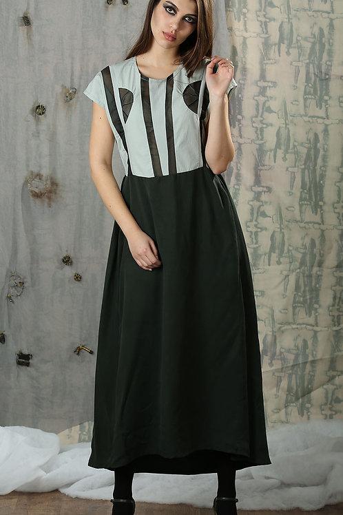 Soggy Maxi Dress, Green