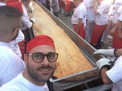 Pizza Fritta più lunga del Mondo