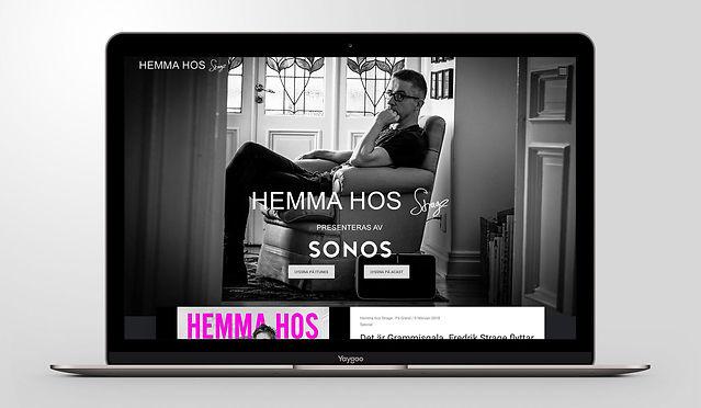 Hemsida design