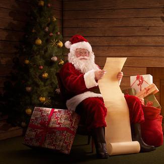 Santas cabin