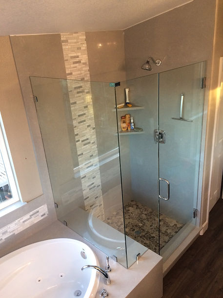 Frameless Glass Shower Dor
