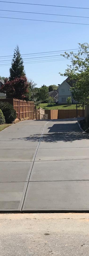 New Driveway