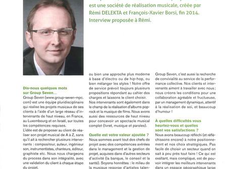 Tout pour la musique, interview de Rémi Delekta dans ESCP Europe Magazine