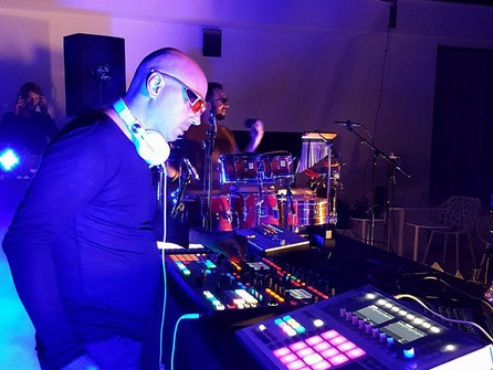 """Sunset """"Boiler Room"""" event in Ibiza … the heat was on!"""