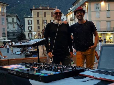 Successful première in Como's centro storico