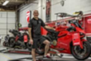 Ducati Service shop - Ducati Master Technician
