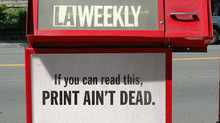Print is, most definitely, Not Dead