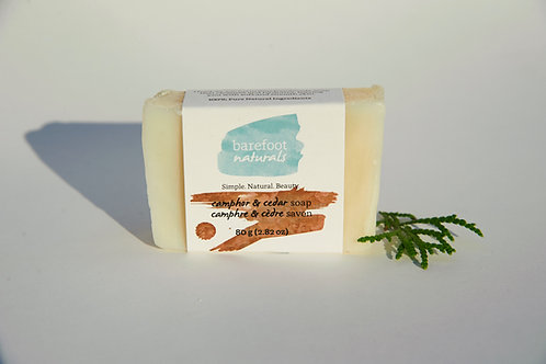 Camphor and Cedar Soap