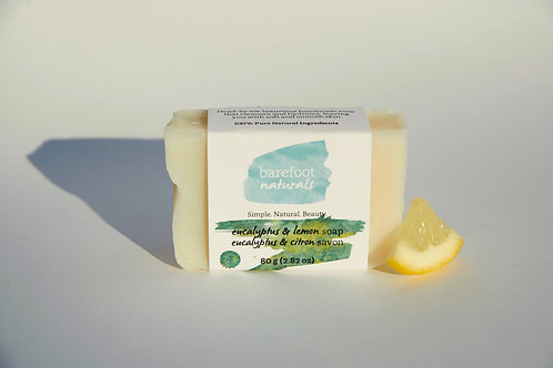 Eucalyptus and Lemon Soap