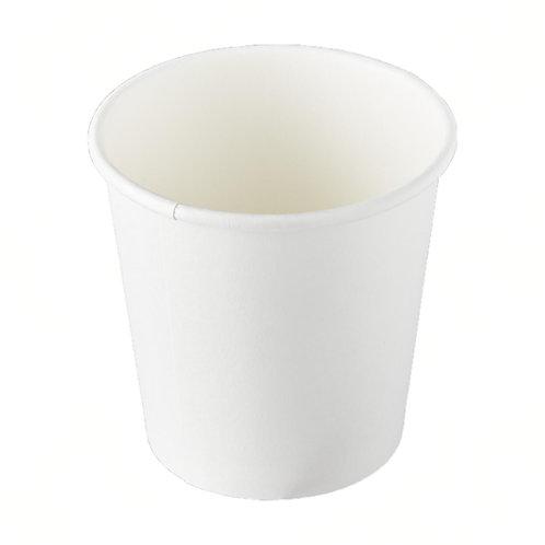 4oz White Paper Cups