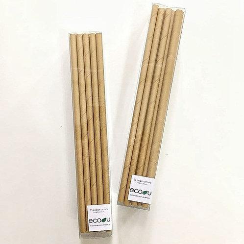 Paper Straws (Kraft)