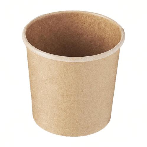 Ice Cream/Soup Bowls Kraft - 360mL
