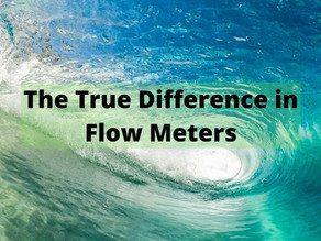 The True Difference in Flow Meters