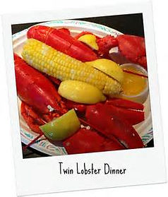 twin lobters Sandy Hook seafood waterfront restaurant