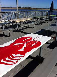 Sandy Hook seafood waterfront restaurant