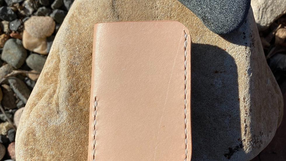 Minimalist Wallet- Natural tan