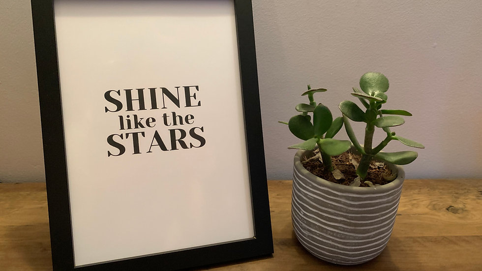 Shine Like The Stars Print