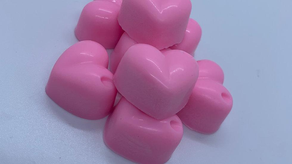 x 8 Lavender Heart Wax Melts
