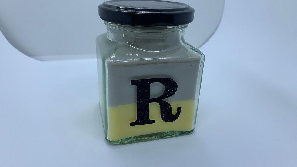 Letter Bergamot and Lemon Candle - 280ml
