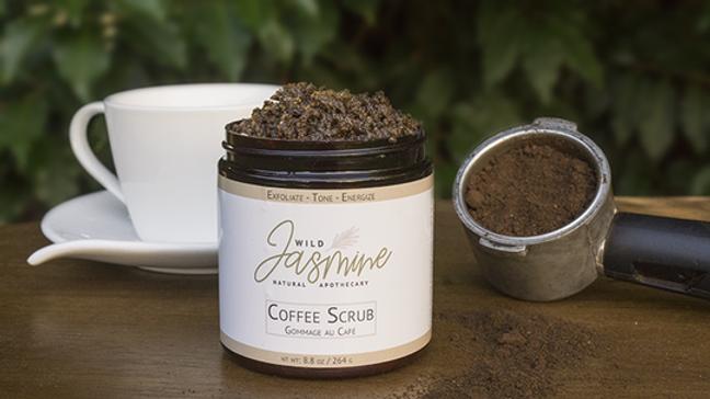 Wild Jasmine Coffee Scrub Bulk