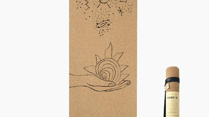 Scoria Universe Cork Yoga Mat 4.5 mm