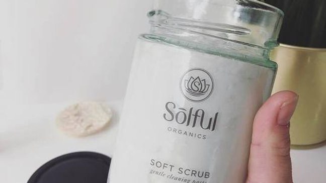 Solful Organics Soft Scrub for the home