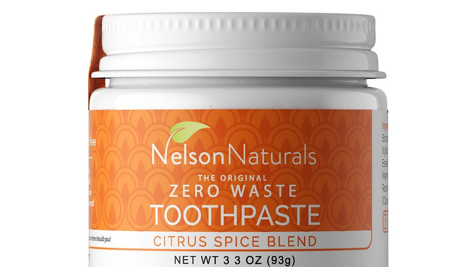 Nelson Naturals Citrus Spice Toothpaste 93g