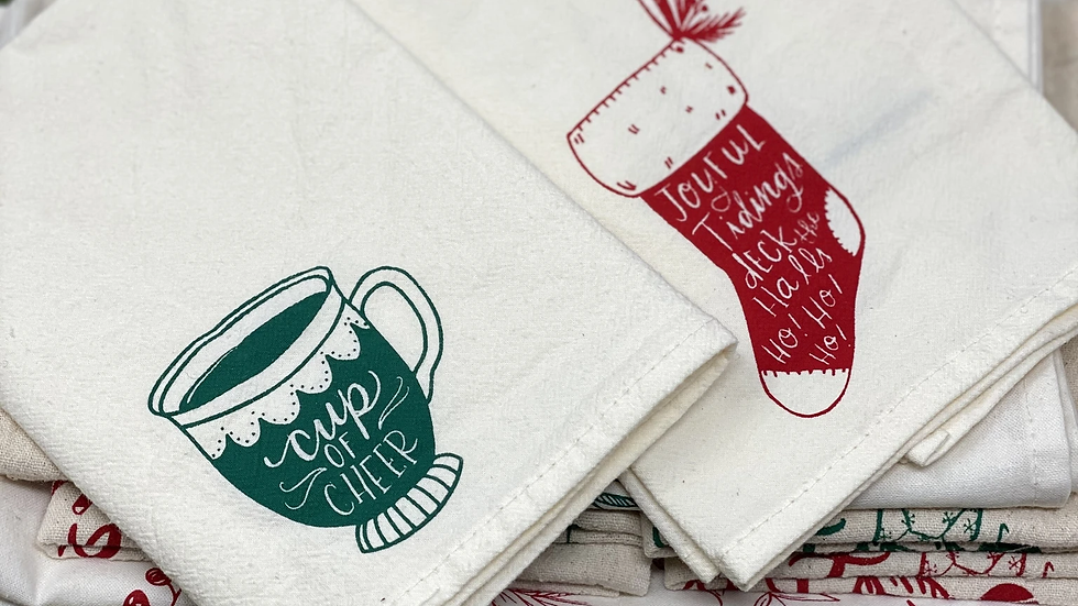 Your Green Kitchen Set of 2 Reuseable Napkins