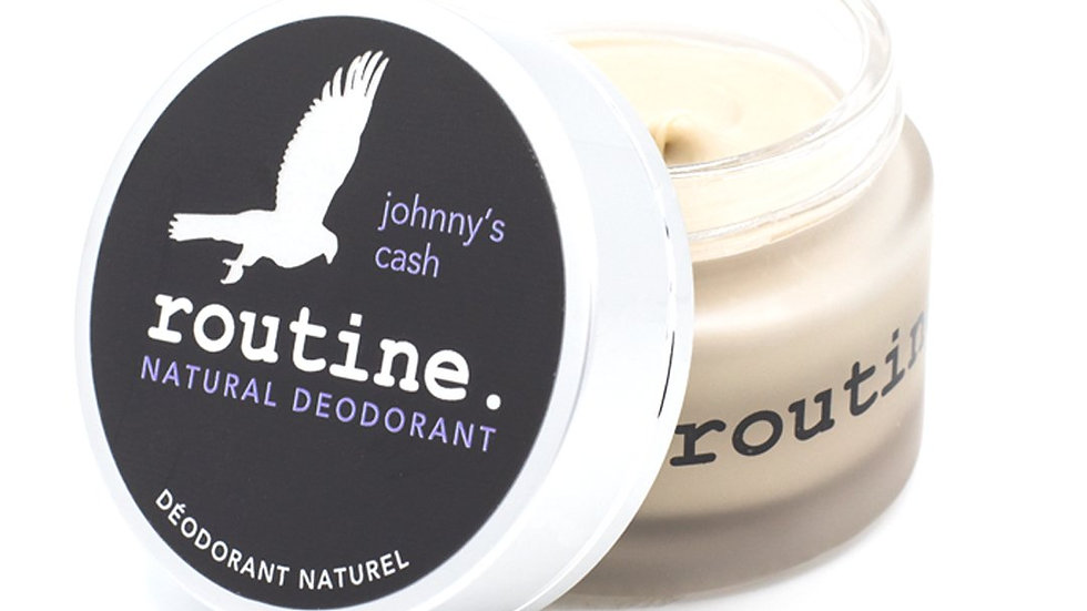 Routine: Johnny's Cash Vegan (beeswax free)