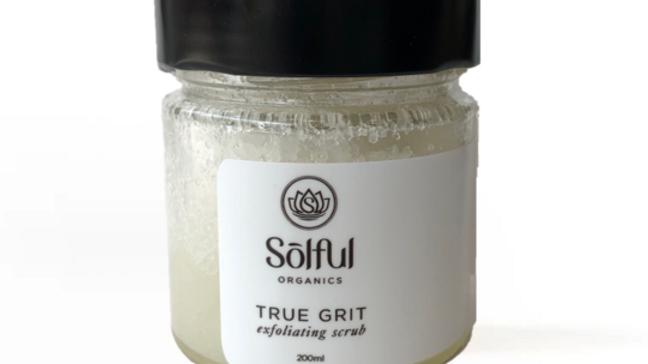 Solful Organics True Grit Scrub