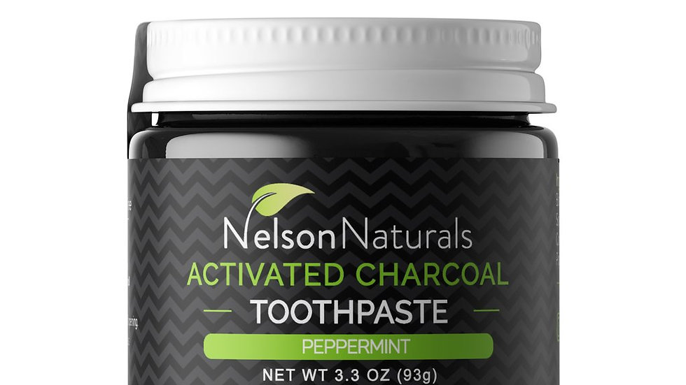 Nelson Naturals Activaed Charcoal Whitening Toothpaste 93g